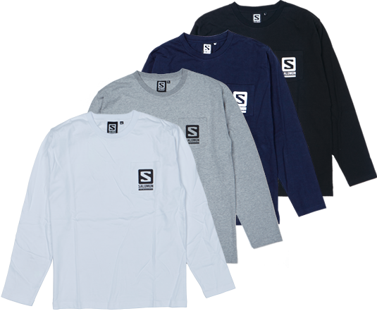 SALOMON HILL SIDE POCKET T-SHIRTS