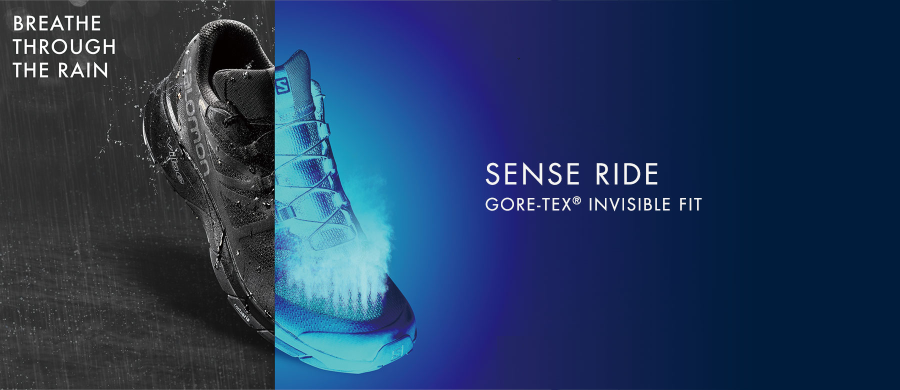SENSE RIDE GORE-TEX® INVISIBLE FIT